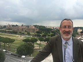 Bob Brakenridge in Rome