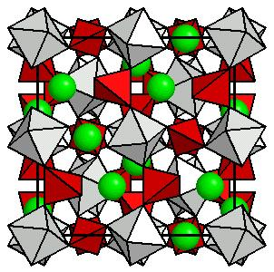 Garnet Structure This is a framework structure